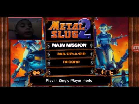 Jogando metal slug