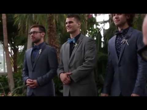 Austin and Elif's Processional - October 1, 2016 - The Jewel Box, Forest Park