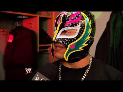 Ricardo interviews Rey Mysterio