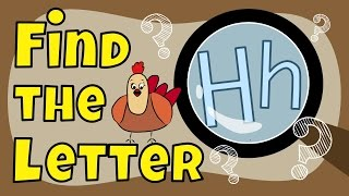 Alphabet Games   Fİnd the Letter H
