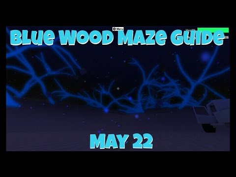 Lumber Tycoon 2: Blue Wood Maze Guide May 22