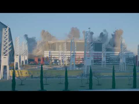 WATCH: Slo-Mo Video of Georgia Dome Implosion From Philips Arena
