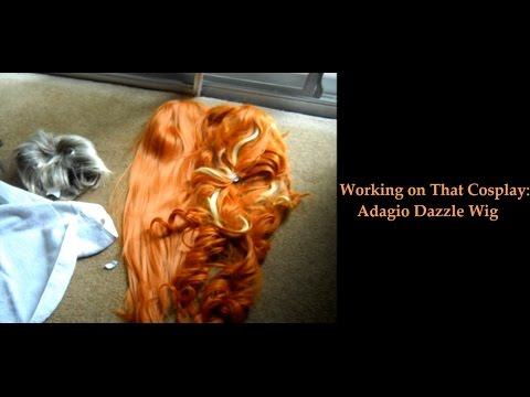 Working On That Cosplay: Adagio Dazzle Wig (Part 1)