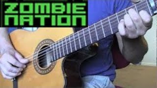 Zombie Nation - Kernkraft 400 (Acoustic Guitar)