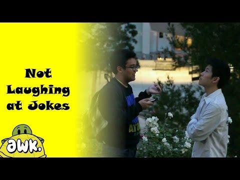 Not Laughing at Jokes