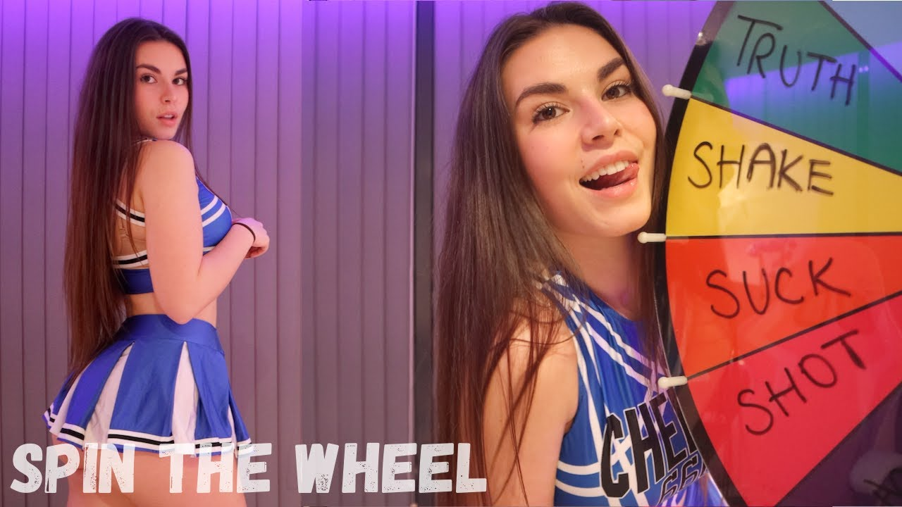 NAUGHTY SPIN THE WHEEL CHALLENGE *HOT* | Lauren Alexis
