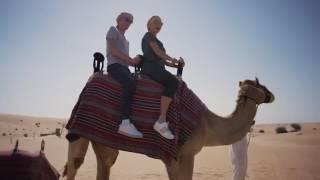 Павел Воля и Ляйсан Утяшева на отдыха в Дубае