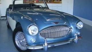 1964 Austin Healey 3000 Mk III restoration walk around