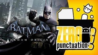 BATMAN ARKHAM ORIGINS (Zero Punctuation) (Video Game Video Review)
