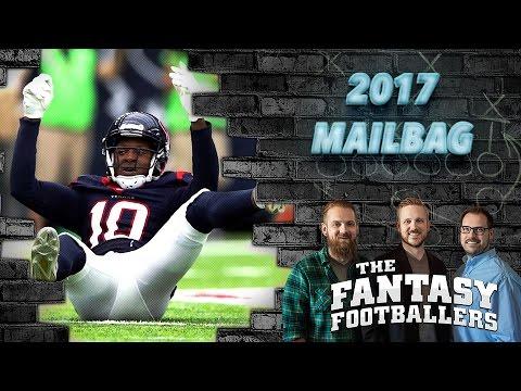Fantasy Football 2017 - Offseason Fantasy Questions, News & Notes - Ep. #355
