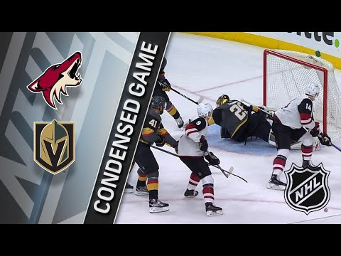 03/28/18 Condensed Game: Coyotes @ Golden Knights