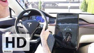 Tesla Model X Launch First Ride | Aol Autos