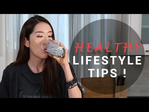 Healthy Lifestyle Tips from Eunice | Wishtrend