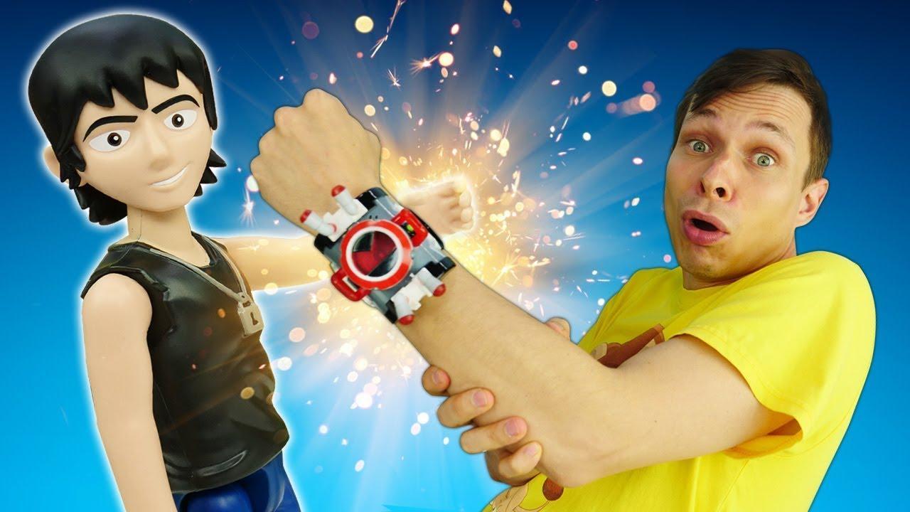 Игровой набор Omnitrix - Сделай часы Бен10 своими руками! Крутые видео игры для мальчиков