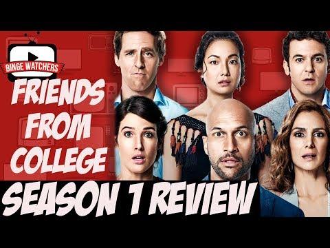 FRIENDS FROM COLLEGE Season 1 Review | Netflix Original