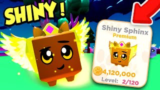 I got a SHINY SPHINX and MAX PETS in Roblox Pet Ranch Simulator 2!