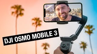 DJI Osmo Mobile 3 - The Perfect Gimbal for Smartphones?