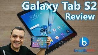 Galaxy Tab S2 - O melhor tablet Android do mercado! (Review - Análise Completa em Português!)
