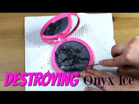 THE MAKEUP BREAKUP: Destroying and Weighing a Jeffree Star Skin Frost | Onyx Ice
