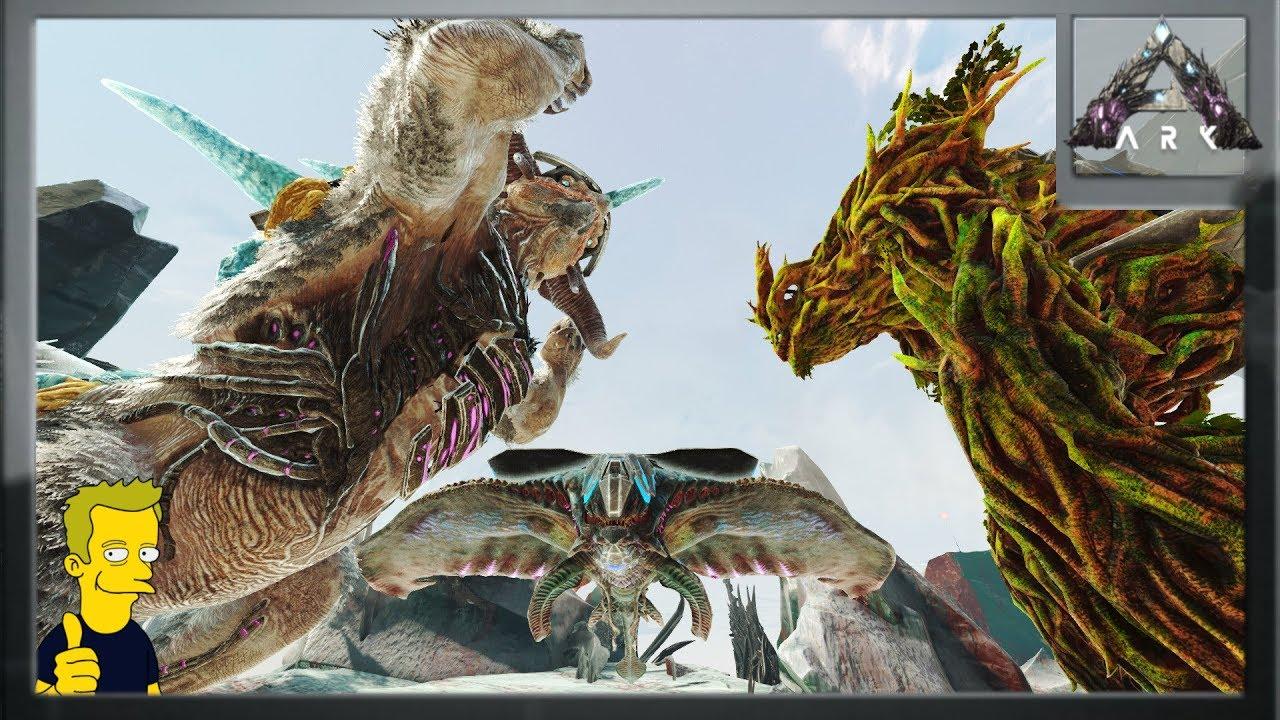ARK : Extinction - PvP Kaiju Battle of the Titans!