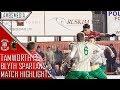 2017 18 Tamworth FC V Blyth Spartans Match Highlights