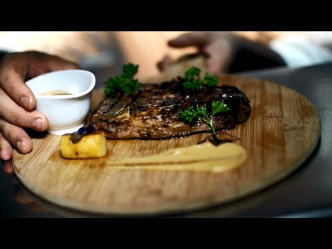 The award-winning steakhouse at Fairmont Dubai