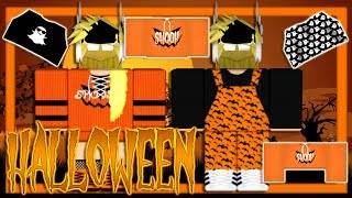 MAKING HALLOWEEN CLOTHING! | ROBLOX Speed Designs