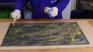 GMK 2410 Rubber Metal Contact Adhesive Demonstration Video