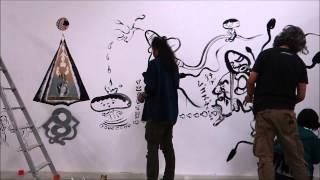 Mangaro Wall Painting Live 02
