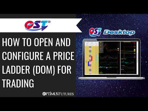 Quick Screen Trading (QST) – How to open and Configure a Price Ladder (DOM) for Trading