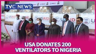 Fighting COVID-19: United States Donates 200 Ventilators To Nigeria
