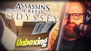 """BOAH IST DIE GROß!"" 📦 Assassins Creed Odyssey Collectors Edition - 🎬  Livestream 05.10.18 - Gronkh"