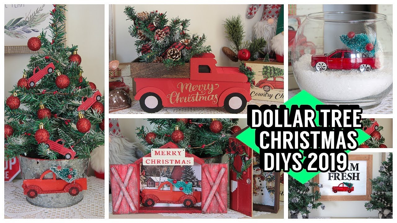 The Best Diy Dollar Store Christmas Hacks The Cottage Market