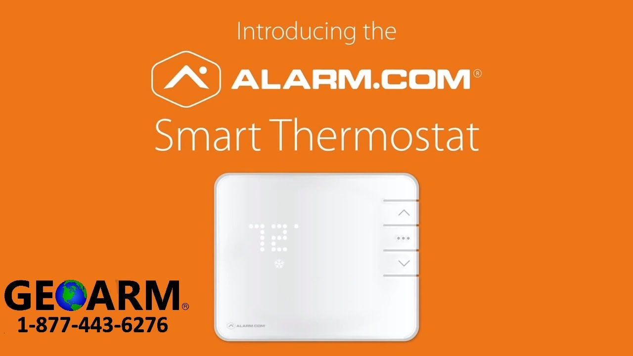 alarm com t2000 introduction to the smart thermostat [ 1280 x 720 Pixel ]