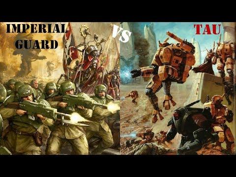Ultimate Apocalypse Mod: Imperial Guard vs Tau