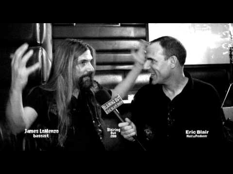 x  Black Label Society James LoMenzo talks w Eric Blair @Dime Bash 2011