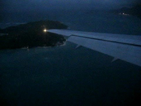 Landing In Seychelles With South-East Monsoon