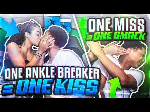1 ANKLE BREAKER = 1 KISS , 1 MISS = 1 SLAP W GIRLFRIEND!?? NBA 2K19