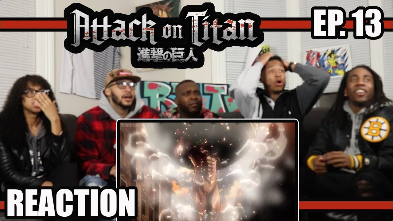 Download HUMANITY'S FIRST WIN! ATTACK ON TITAN EP.13 REACTION/REVIEW