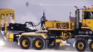 Удивительные машины|Как убирает снег различная техника|Expensive technology removes snow|ATW