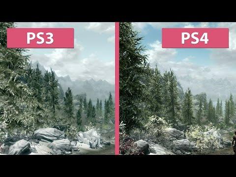 Skyrim – PS3 Original vs. PS4 Special Edition Remaster Graphics Comparison