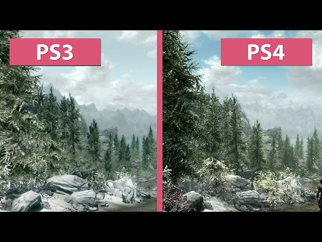 Skyrim Comparison Video Shows Differences Between PS3PS4