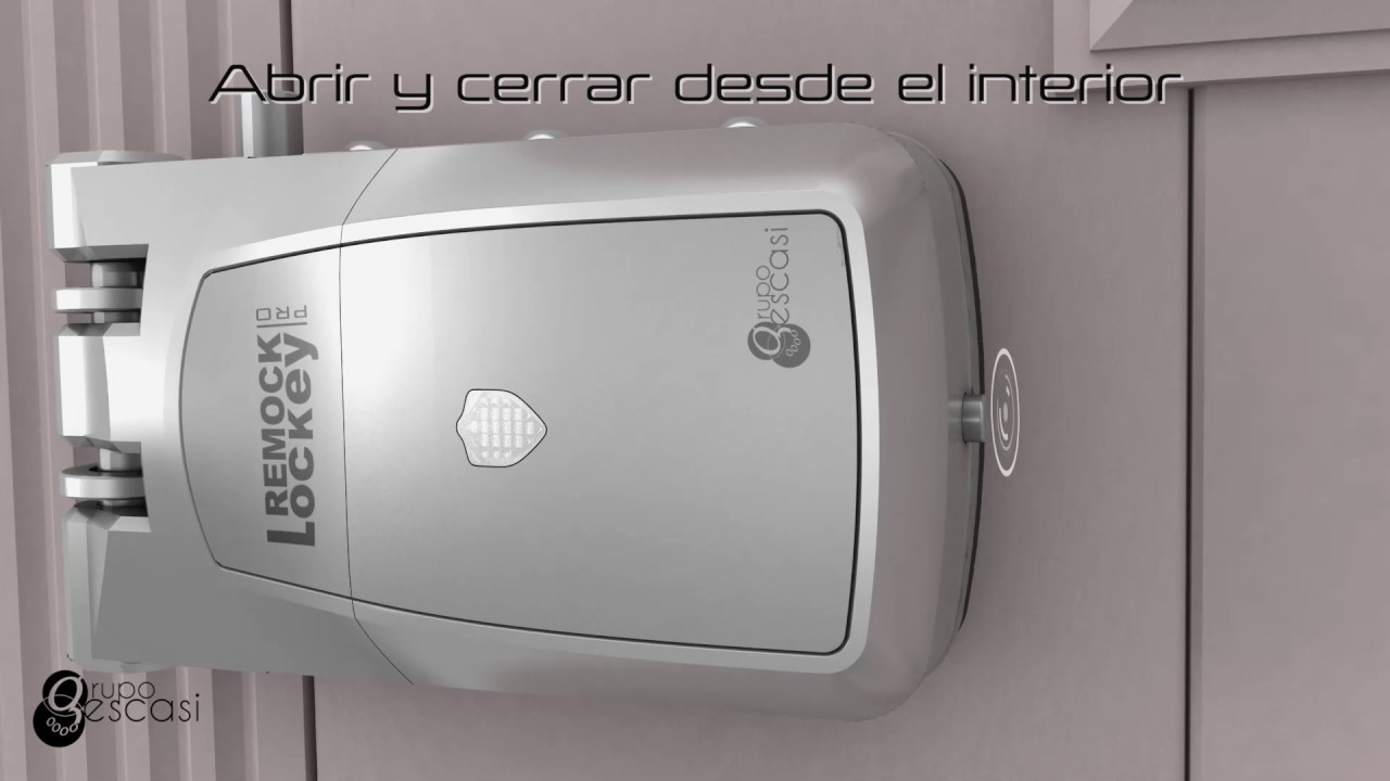 Cerradura de seguridad invisible remock lockey pro youtube for Cerradura invisible remock lockey