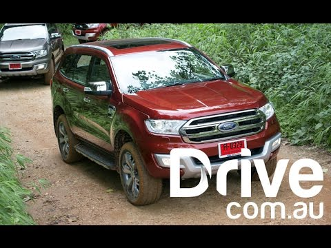 2015 Ford Everest First Drive Review | Drive.com.au