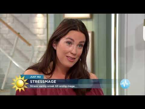 Hälften av alla kvinnor i åldern 15-34 år har haft magbesvär senaste året - Nyhetsmorgon (TV4)
