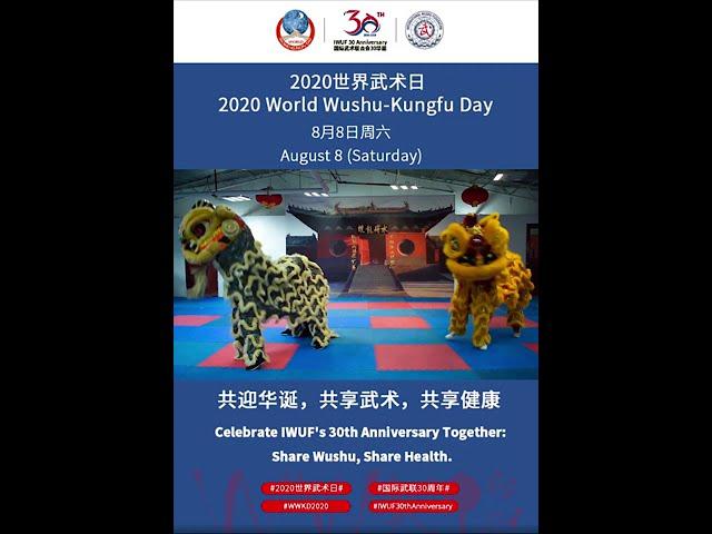 2020 Día Mundial del Wushu Kung Fu - Colaboración CES Wushu