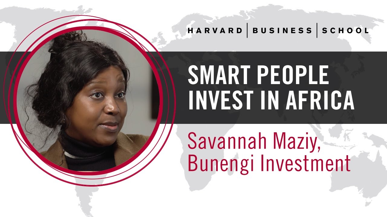 Bunengi Investment Group's Savannah Maziya: Smart People Invest in Africa