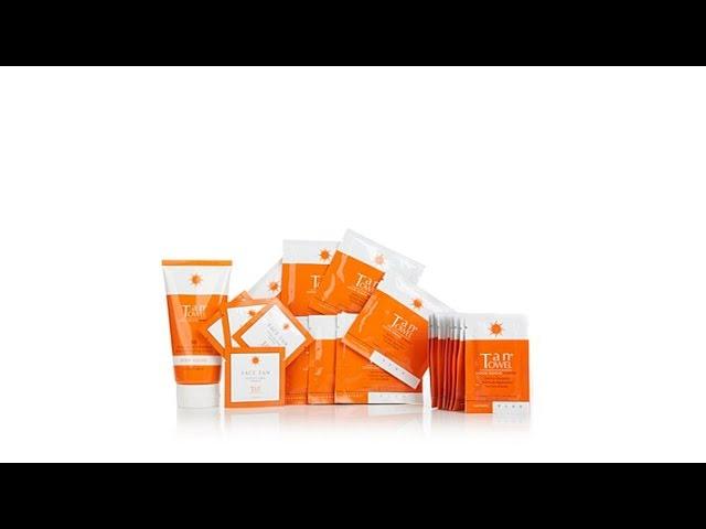 TanTowel 23piece Sunless Tanning Kit AS