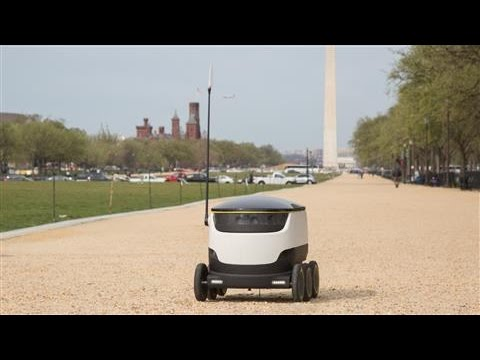 Food-Delivery Robots Rolling in D.C.