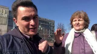 В центре Москвы народ вышел против власти одичалых временщиков! #митинг #москва #политика